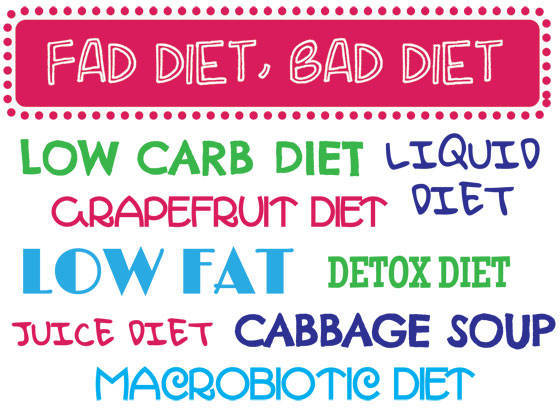 how do fad diets effect us