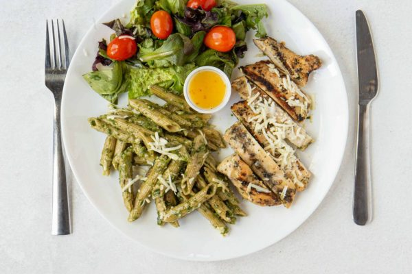 Mediterranean Grilled Chicken Pesto